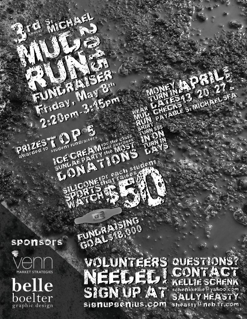 Mud Run flyer