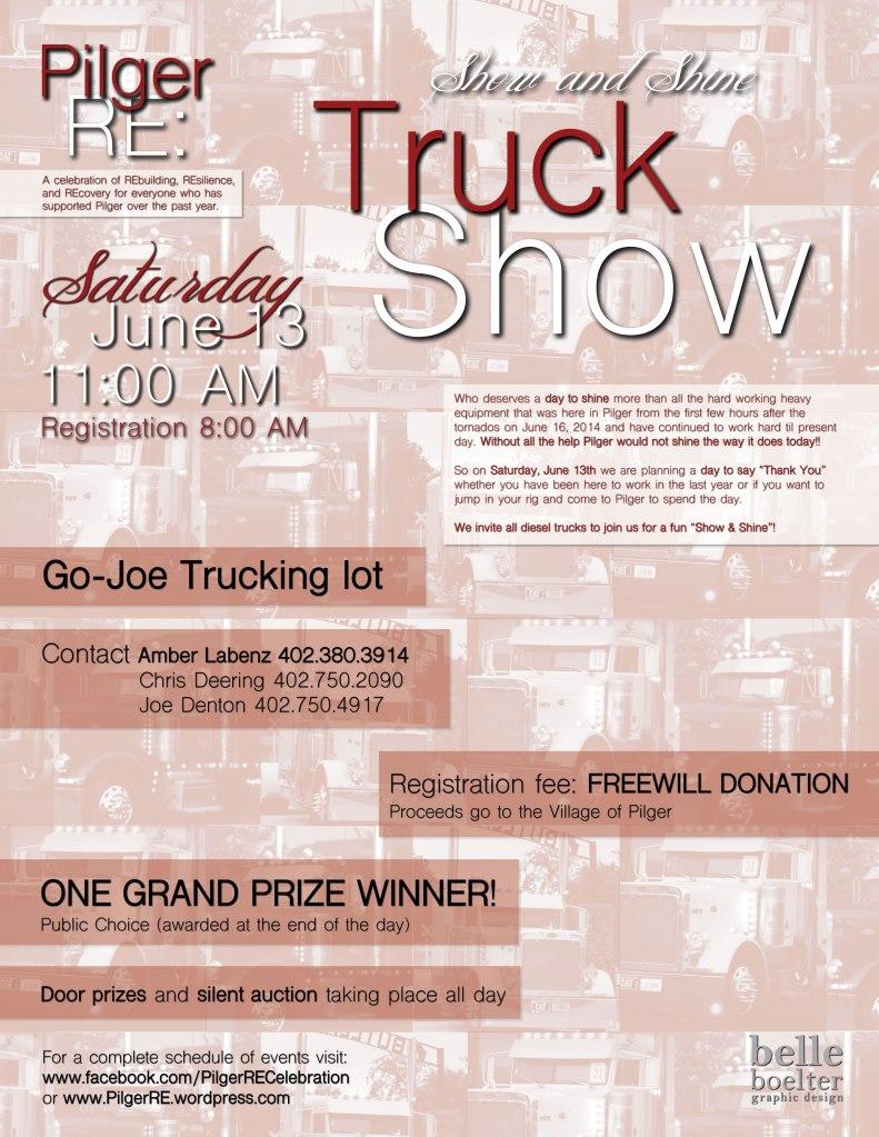 Truck Show flyer