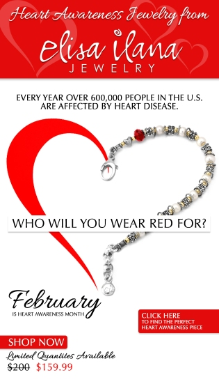 Heart Awareness Jewelry email